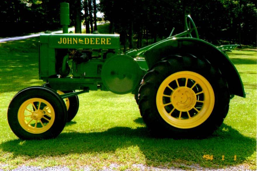 John Deere Gp Fenders : Dillners antique tractors john deere parts